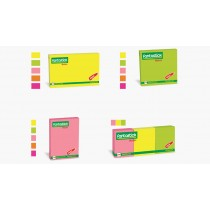 FANTASTICK FLUORESCENT COLOUR STICKEY NOTES FK-N305,303,203,42370