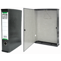 FIS PP RIGID BOX FILE WITH PLASTIC SIDES