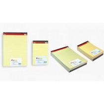 CLIPP LEGAL PADS YELLOW