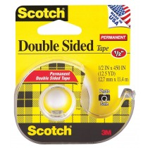 SCOTCH DOUBLE SIDED TAPE 665 & 136(WITH DISPENSER)