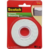 SCOTCH PERMANENT MOUNTING TAPES SQUARES