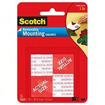 SCOTCH REMOVABLE MOUNTING TAPES & SQUARES