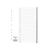 DELUXE ALPHABETICAL DIVIDER & MONTHLY DIVIDER
