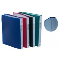 DELI A4 MARBLY TEXTURE PLATE DISPLAY BOOK