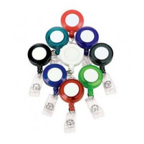 NAME BADGE REEL WITH CLIP