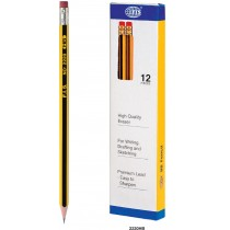 HB PENCIL WITH ERASER