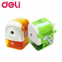 DELI PENCIL TABLE SHARPENERS (SCHOOL SERIES)