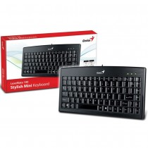 GENIUS  Luxemate 100 Slim USB Keyboard (Black)