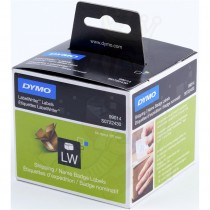 Dymo 99014 LabelWriter Shipping / Name Badge Labels, 54 x 101 mm