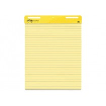 3M Post-it Self-Stick Easel Pad 561, 25 x 30 inches, line ruled, 30/pad, Yellow