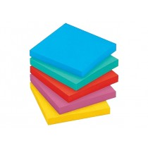 3M Post-it Notes 654-5UC, 3 x 3 inches, 5pads/pack, Ultra Colors
