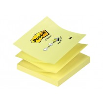 3M Post-it Pop-up Notes, Refills for Pop-up Dispensers 3 x 3 inches, Canary Yellow