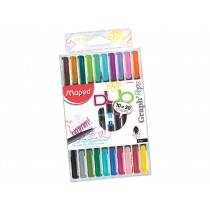 MAPED GRAPH'PEPS FINELINER DUO PENS