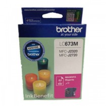 BROTHER CARTRIDGE  MAGENTA (LC673M)