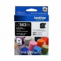 BROTHER INK CARTRIDGE BLACK LC-563BK