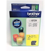 BROTHER CARTRIDGE YELLOW (LC673Y)