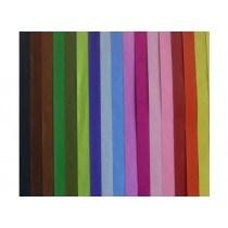 Colored Tissue Paper, 50 x 68 cm, 12sheet/pack, Black
