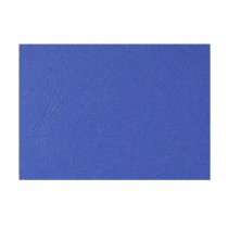 Deluxe A3 Embossed Leather Board Binding Cover, 100/pack, Dark Blue