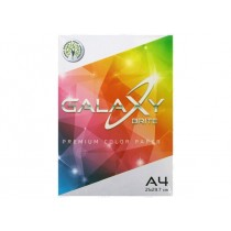 Galaxy Colored Copy Paper, A4, 80gsm, 250sheets/ream, Rainbow Pack