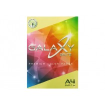Galaxy Colored Copy Paper, A4, 80gsm, 500sheets/ream, Yellow