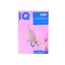 IQ Colored Copy Paper A4, 80gsm, 500sheets/ream, Pink
