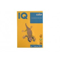IQ Colored Copy Paper A4, 80gsm, 500sheets/ream, Sun Yellow