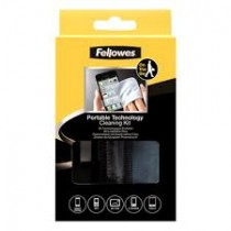 FELLOWES PORTABLE TECHNOLOGY CLEANING KIT FEL9963804