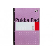 Pukka Pad Refill A4, line ruled, 80gsm, 400sheets/pad, Assorted Colors