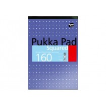 Pukka Pad Squared A4, squared, 80gsm, 160sheets/pad, Purple