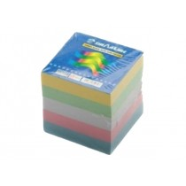 Sinarline Paper Cube Colored without Gum 9x9x9cm