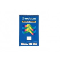 Sinarline Spiral Shorthand Pad A5, top spiral, line ruled, 56gsm, 70sheets/pad