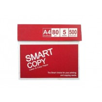 Smart Copy Paper A4, 80gsm, 500sheets/ream, White