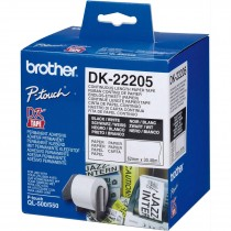BROTHER QL550 CONTINOUS PAPER ROLL 62X30.48M DK22205