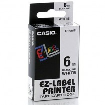 CASIO LABELLING TAPE 6MM XR6WE